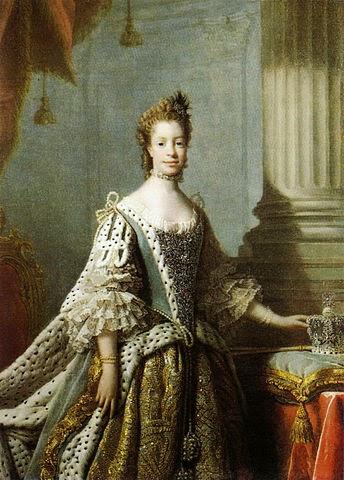Queen Charlotte by studio of Allan Ramsay, 1762