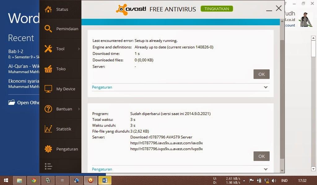 update antivirus