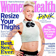 P!nk On Cover Women's Health Magazine