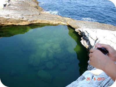 Giola - piscina naturala din Thassos