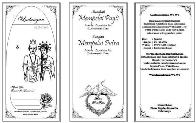 Undangan Pernikahan Yang Bisa Diedit Vegalosmooth