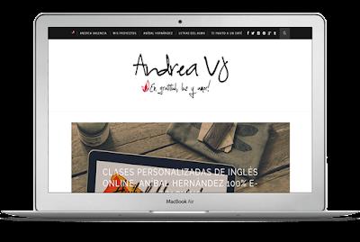 Blog personal de Andrea