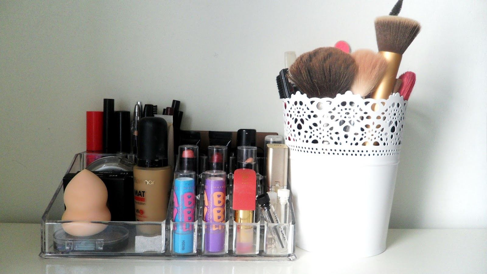 My Makeup Collection + Storage