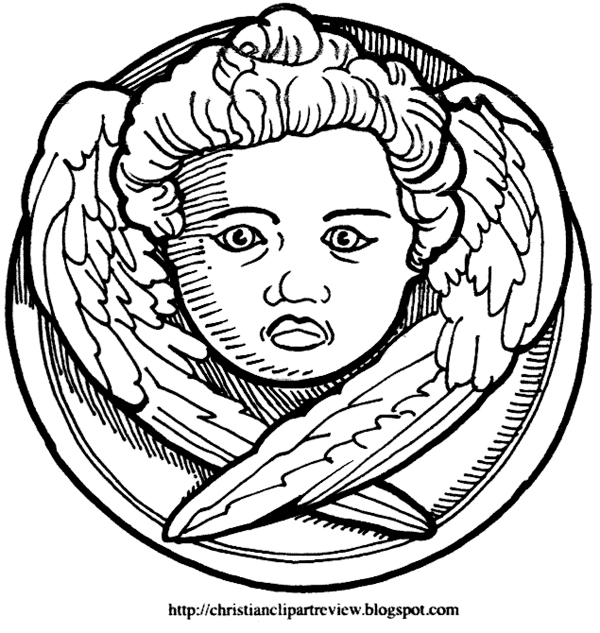 Cherubim Chrismon Pattern Christian Clip Art Review Enchanting Chrismon Patterns