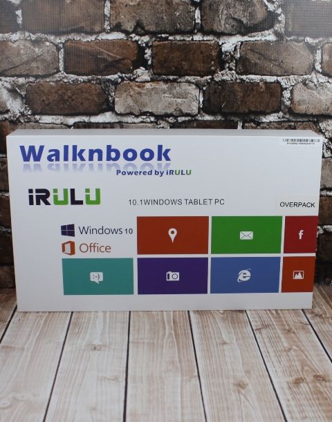 Review - iRULU WalknBook Notebook Tablet 2-in-1 #tech
