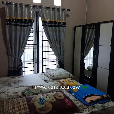 Kamar Tidur Utama Rumah Murah Secondary 2 lantai di Jl. Asoka 1 Pasar 1 Ring Road Dekat Ring Road City Walk Medan