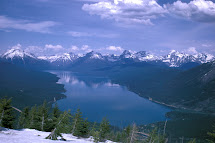 Glacier National Park Public Domain Clip Art