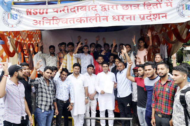Issue of lathi charge on NSUI workers will be raised in Haryana assembly: Lalit Nagar