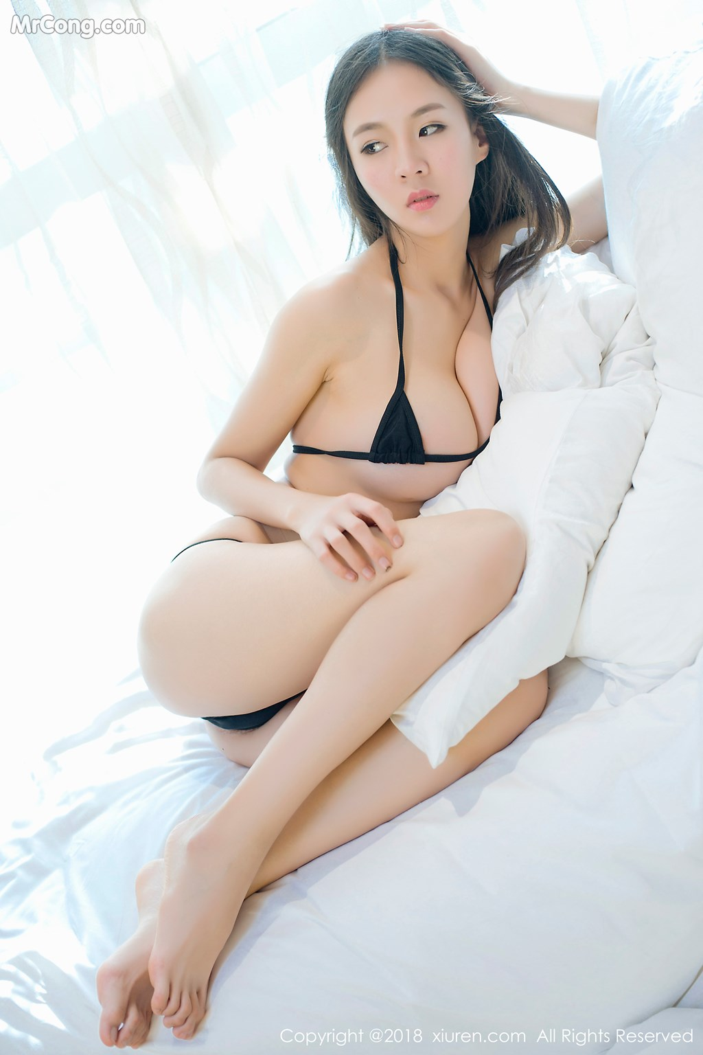 Image XIUREN-No.1003-Mote-Yue-Yue-MrCong.com-009 in post XIUREN No.1003: Người mẫu Mote Yue Yue (模特悦悦) (46 ảnh)