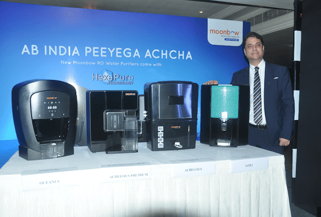 HSIL Expands Consumer Business Division with The Launch of 'moonbow Water Purifiers'