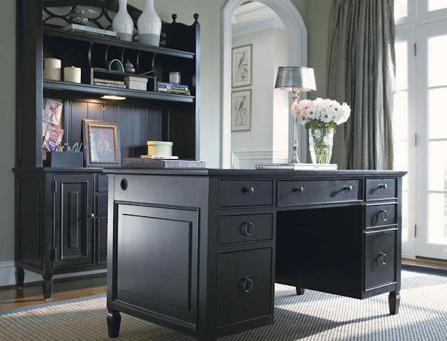best wood compact office desk for home black design ideas
