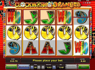 play clockwork oranges free online slot