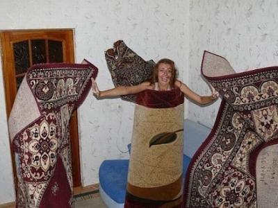 playmate alfombrada