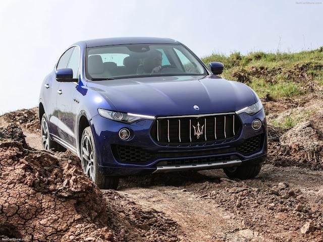 Maserati Levante S SUV off road track