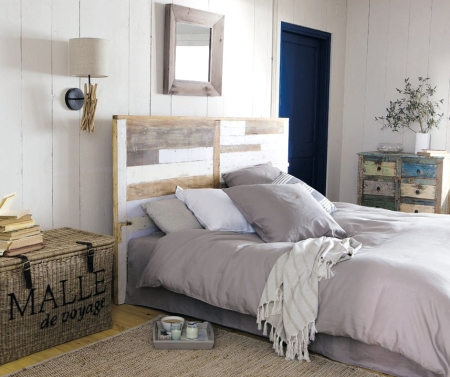 weathered sea decor look