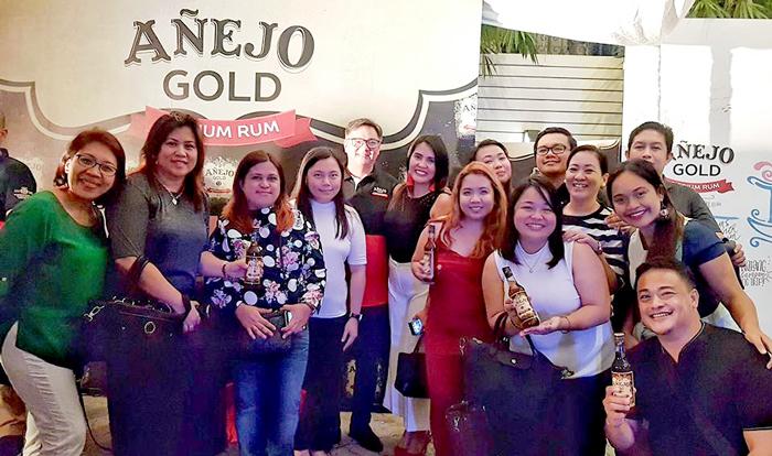 Añejo Gold Medium Rum Davao Launch
