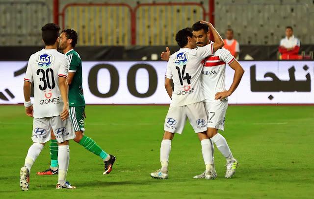 نتيجة مواجهة الزمالك والاتحاد السكندري في الدوري المصري