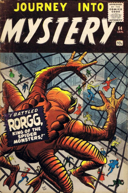 Jack Kirby Journey Into Mystery