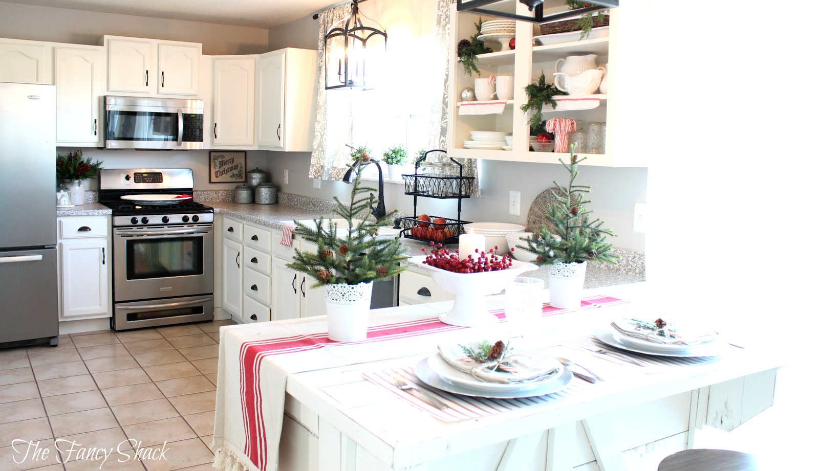 Kitchen Chalk Paint Makeover Reveal