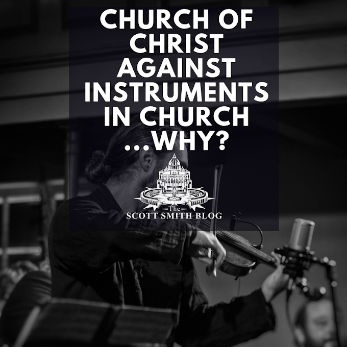 Why don't some churches use musical instruments in worship?