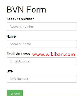 how to link bvn to firstbank online