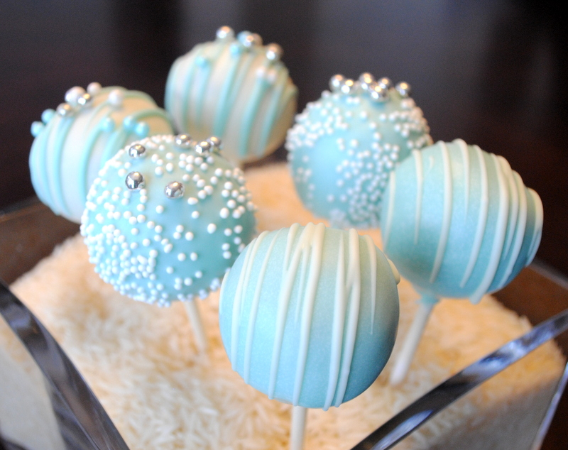 Take Another Bite Tiffany Blue Cake Pops