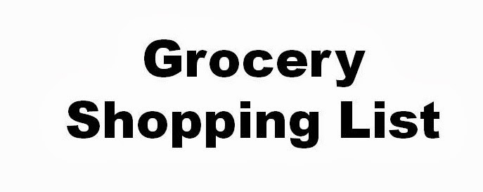 17 Day Diet Gal Grocery Shopping List And Some Notes