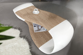 Moderní konferenčný stolek do obývaku Reaction.