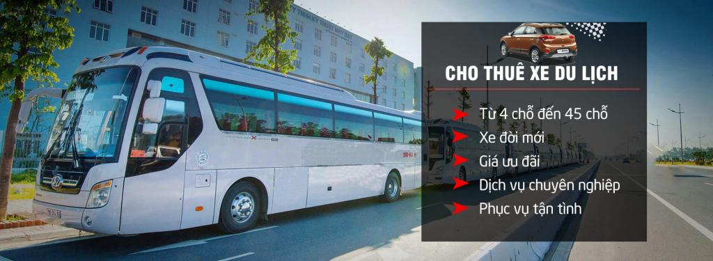 Cho thuê xe từ 4 đến 45 chỗ tại Hà Nội