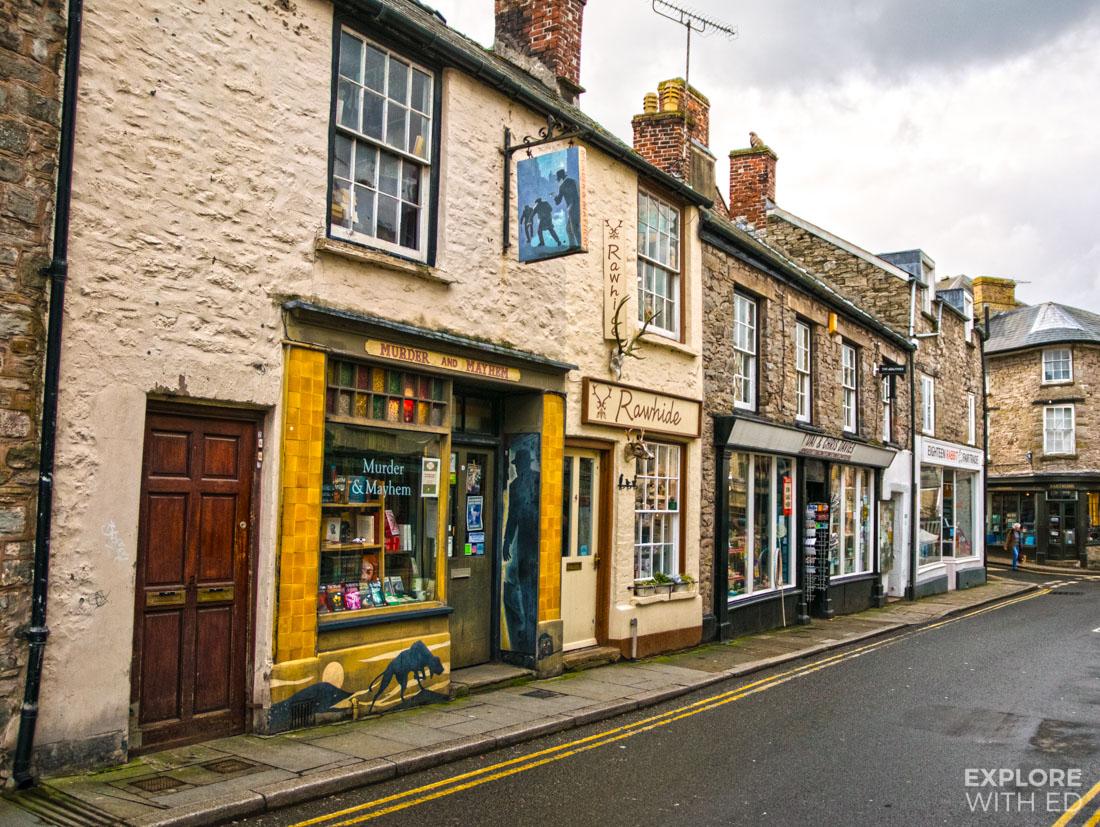 Murder and Mayhem, Addyman Book shops Hay-on-Wye