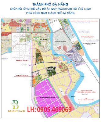 Quy hoạch các dự án phía Nam thành phố Đà Nẵng với nhiều dự án biệt thự resort, sân golf...