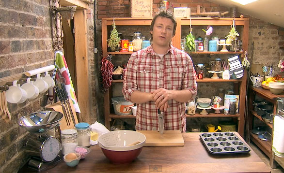 jamie oliver at home ep 6 gardening and cooking. Black Bedroom Furniture Sets. Home Design Ideas