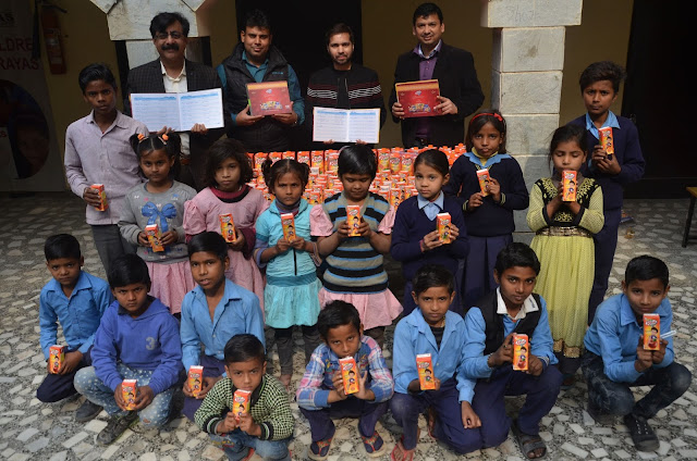 Dabur Donates Real Juice packs to support the nutritional needs of underprivileged  children