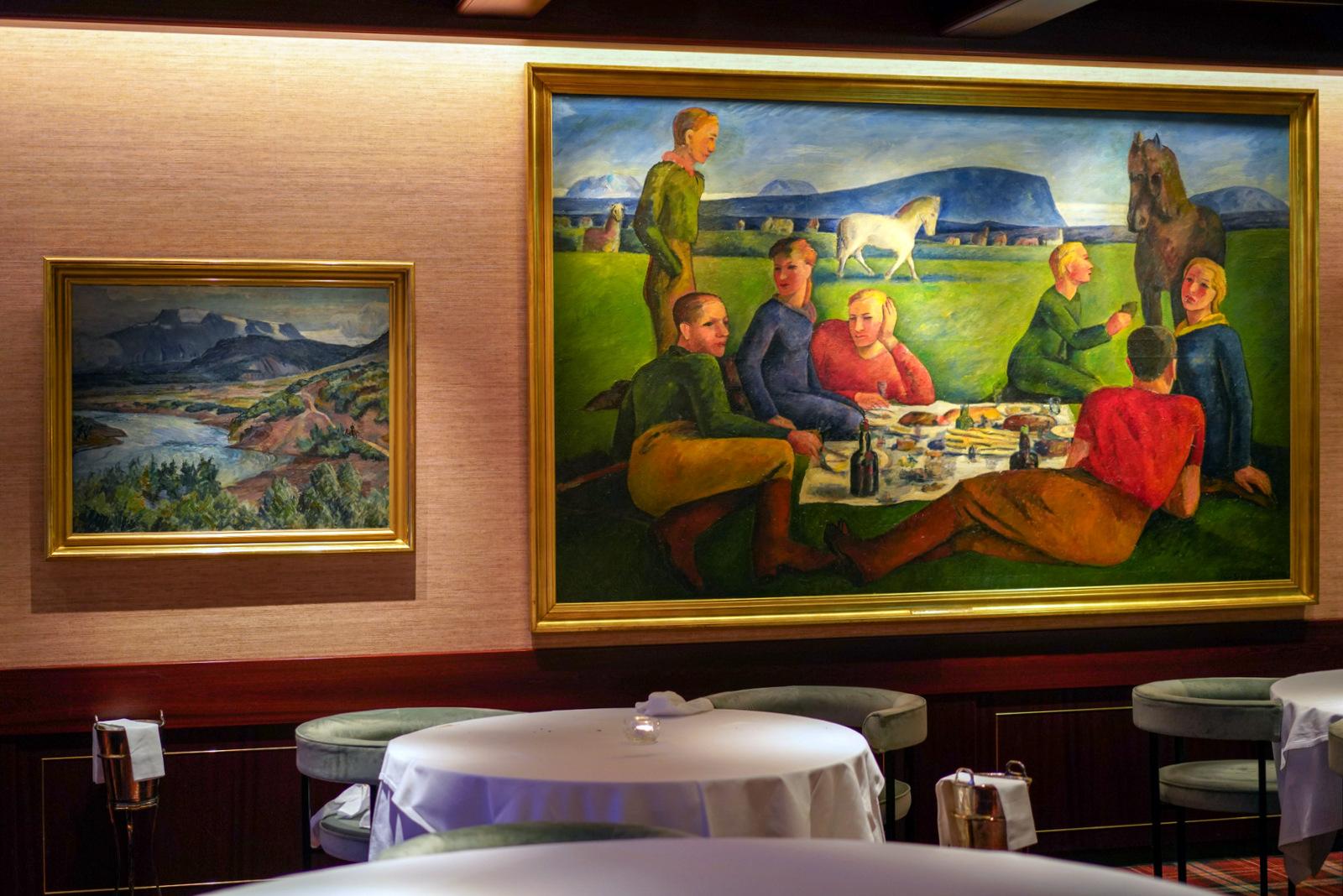 holt restaurant, reykjavik, iceland