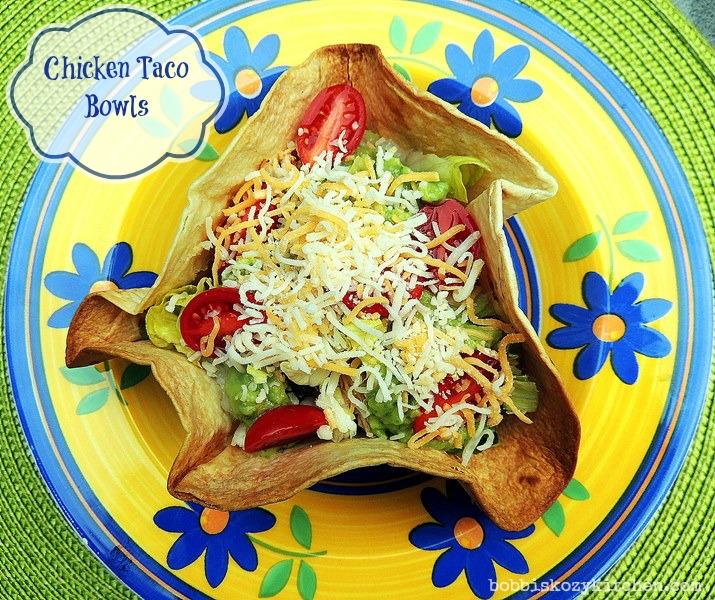 Chicken Taco Bowls Recipe: 68 Recipes For Cinco De Mayo