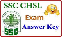 SSC CHSL Exam Answer Key