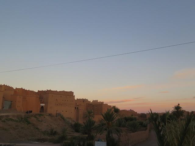Atardecer en Ouarzazate