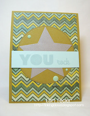 You Rock-designed by Lori Tecler-Inking Aloud-stamps from My Favorite Things