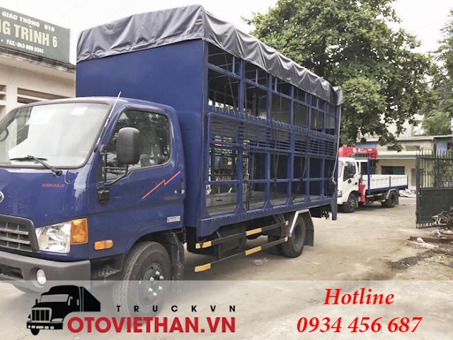 Xe chở xe gắn máy 7 tấn Hyundai HD700