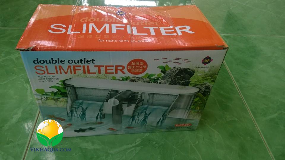 lọc thác slimfilter Up aqua cho hồ thủy sinh 40 -60cm