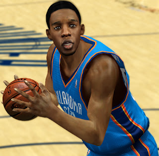 NBA 2K13 Hasheem Thabeet Cyberface Patch