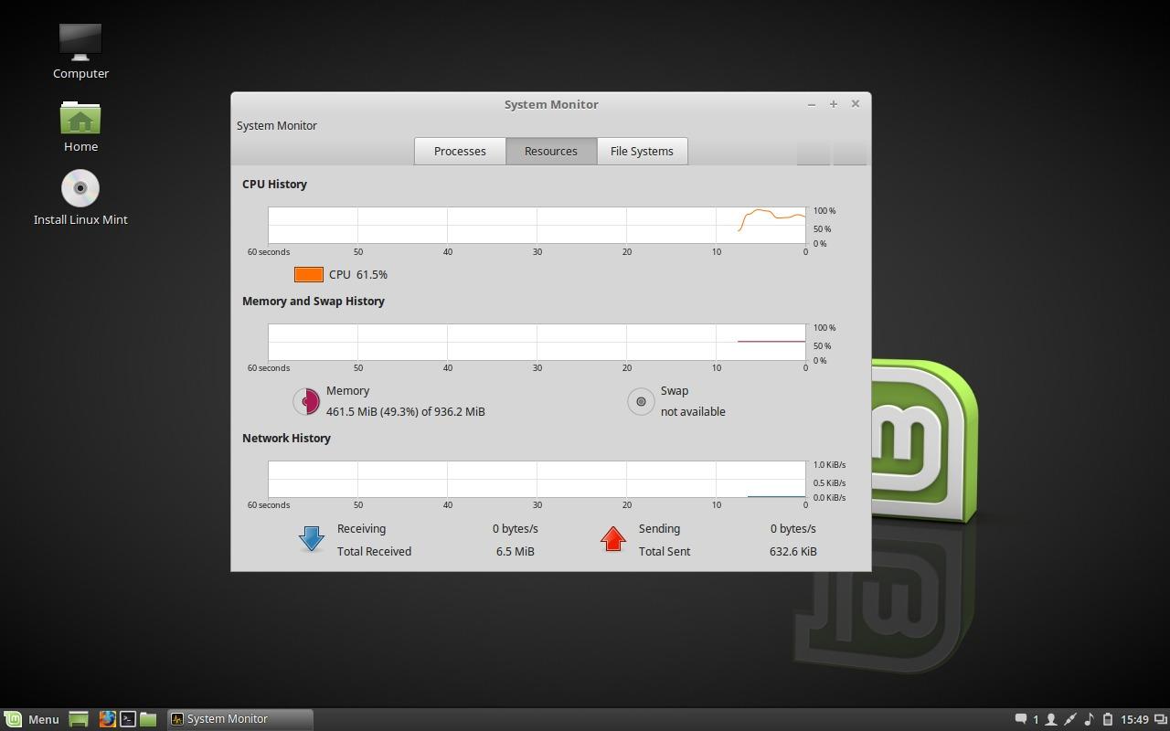 linux cinnamon how to take screenshots