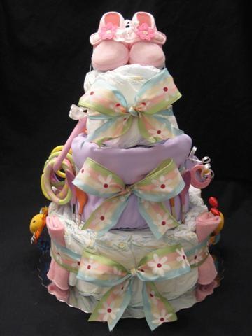 Inspiraciones ideas de regalos para beb s manualidades - Gateau de couche baby shower ...