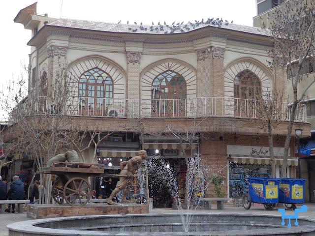 Marvi Bazaar, Oudlajan, Tehran, Iran