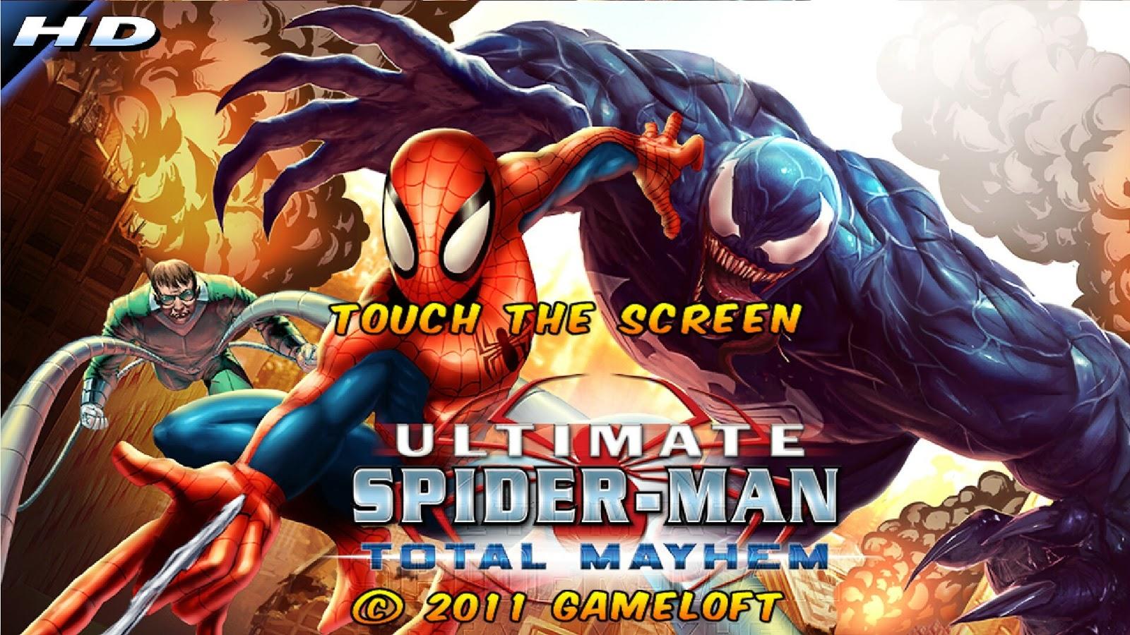 Spider-Man Total Mayhem HD APK v1.0.8 1