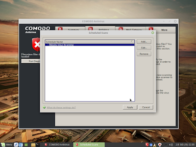 Comodo Antivirus for Linuxスクリーンショット4