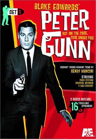 Cartel de la serie Peter Gunn