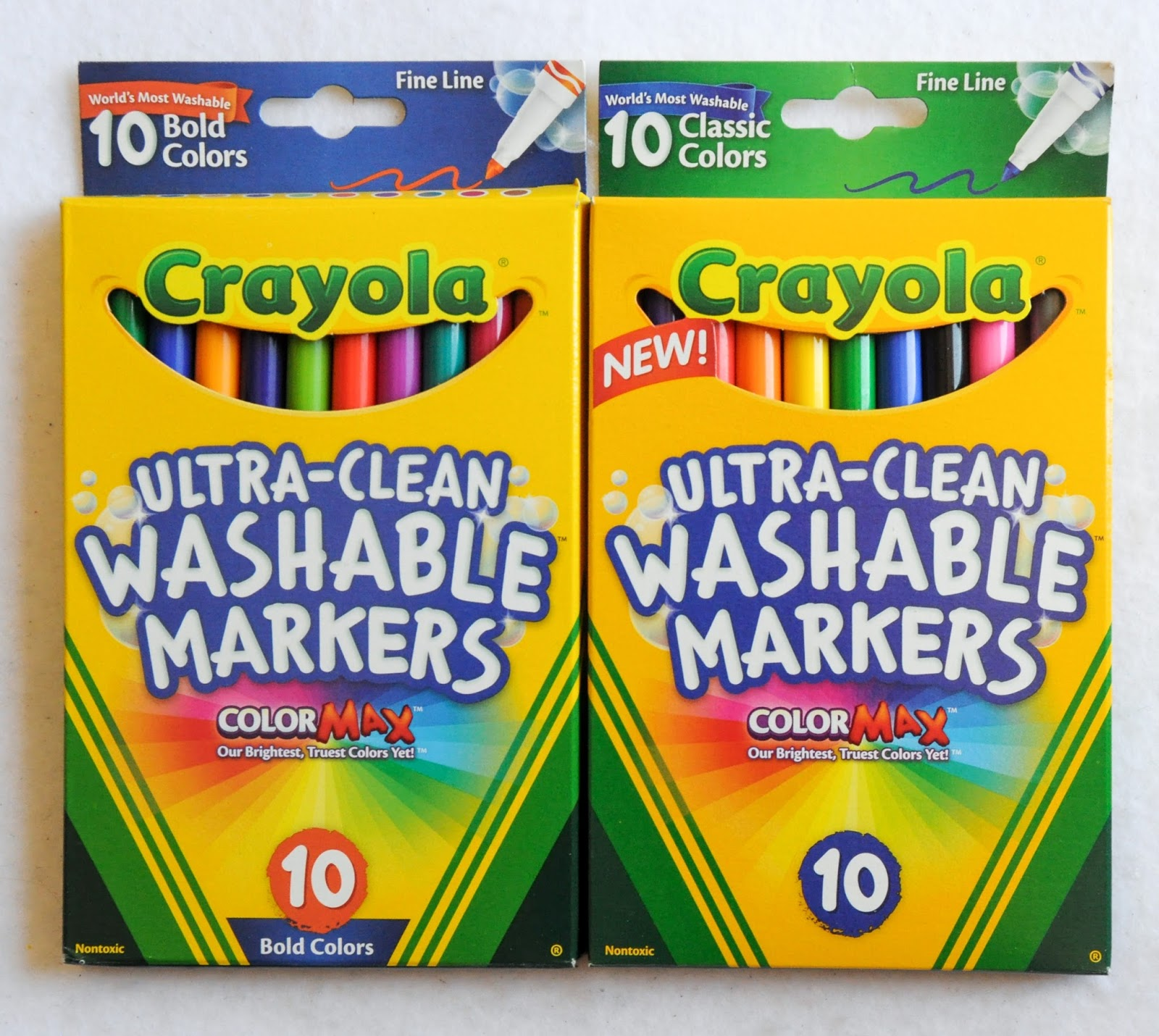 crayola ultra clean washable fine tip markers what s inside the box