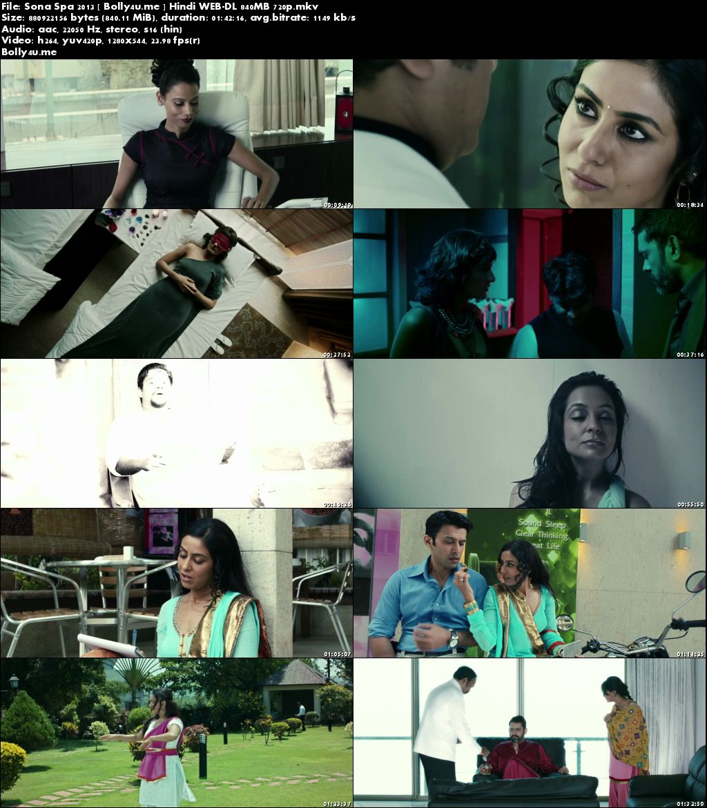 Sona Spa 2013 WEB-DL 850MB Full Hindi Movie Download 720p