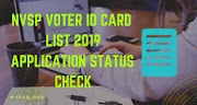 voter list for lok sabha election 2019